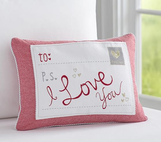 Decorative Valentine Pillows : Valentine Decorative Sham Pottery Barn Kids
