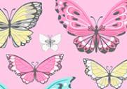 Mackenzie Pink Pretty Butterfly Lunch Bags Pottery Barn Kids