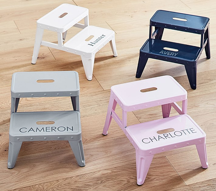 Personalized Metal Step Stools. Kids  39   amp  Children  39 s Bath Towels  Kids Bathroom Sets   Pottery Barn Kids