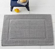 Solid Core Bath Mat, 20 x 32, Dark Gray