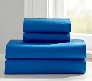 Organic Cotton Sheet Set, Nautical Blue, Twin