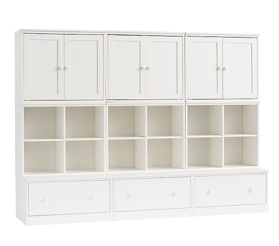Cameron Toddler Wall System, Simply White