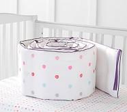 Margherita Missoni Pom Pom Daisy Embroidered Bumper, White Multi