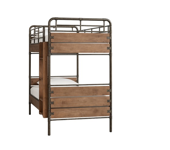 Pottery Barn Owen Bed: Owen Twin-over-Twin Bunk Bed