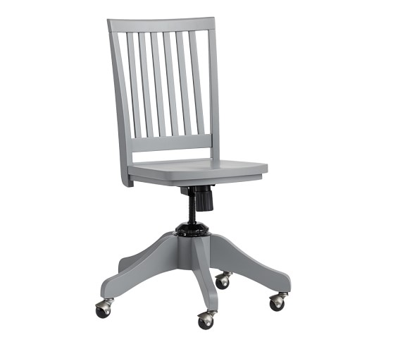 Pottery Barn White Desk Chair Roselawnlutheran
