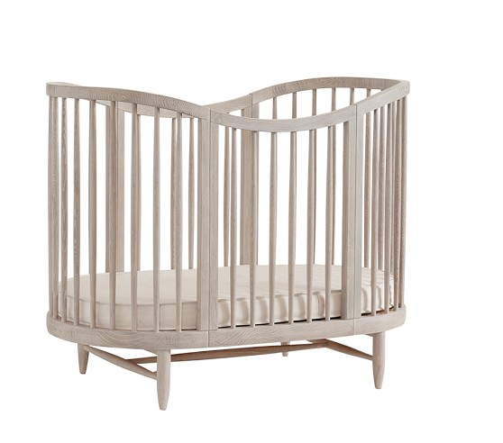 Luna Oval Crib Amp Conversion Kit Pottery Barn Kids