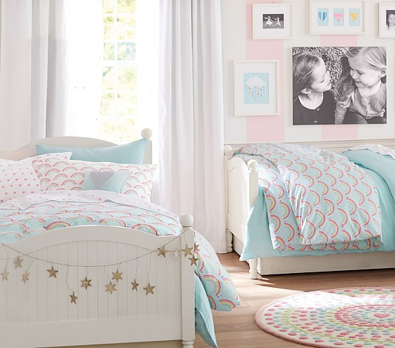 Catalina bed pottery barn kids for Pottery barn kids rooms