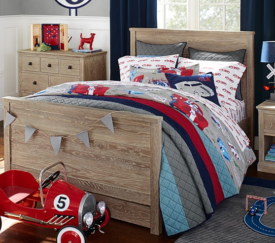 Charlie bedroom set pottery barn kids for Pottery barn kids rooms