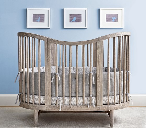 Luna Oval Crib Amp Conversion Kit Pottery Barn Kids