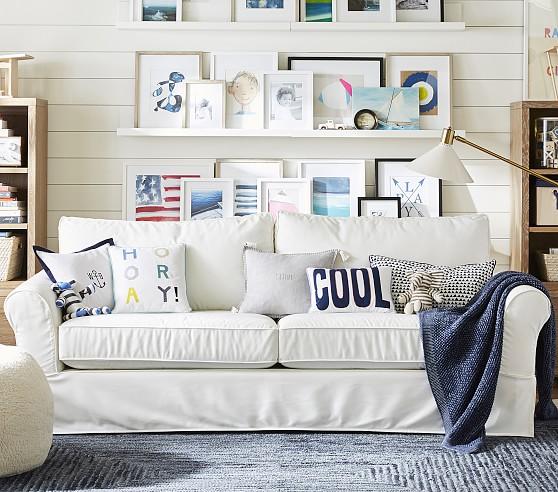 Grand Furniture Kids: PB Kids™ Grand Comfort Slipcovered Sofa