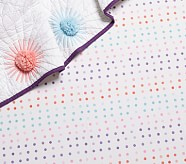 Organic Margherita Missoni Dot Crib Fitted Sheet, Multi