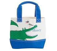 Mini Preppy Icon Tote Alligator