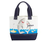 Mini Preppy Icon Tote Happy Sharks