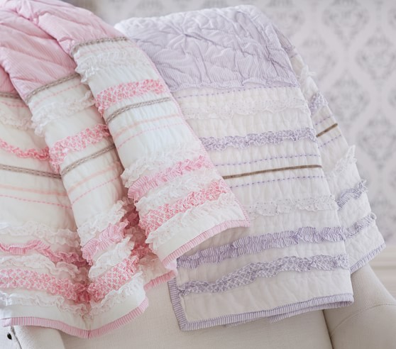 Baby Brigette Ruffle Quilted Bedding