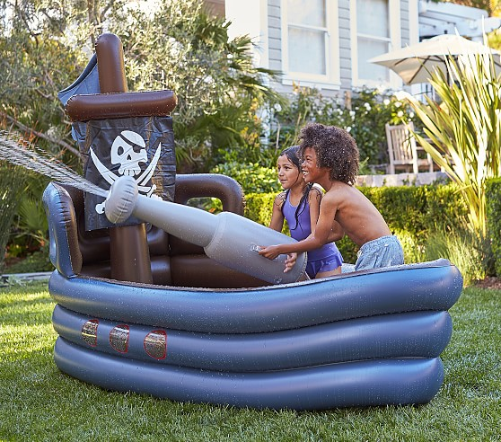 Pirate Ship Inflatable Pool Pottery Barn Kids