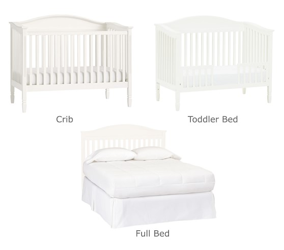 Madison 3 In 1 Convertible Crib Pottery Barn Kids