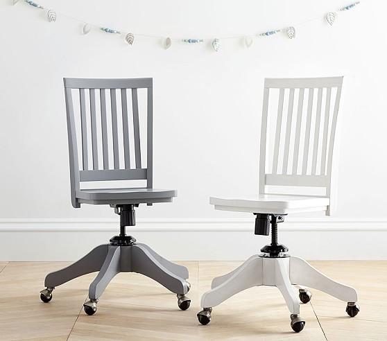 Carolina Swivel Desk Chair | Pottery Barn Kids