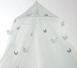Monique Lhuillier Seafoam Butterfly Canopy