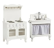 Farmhouse Sink & Oven Set