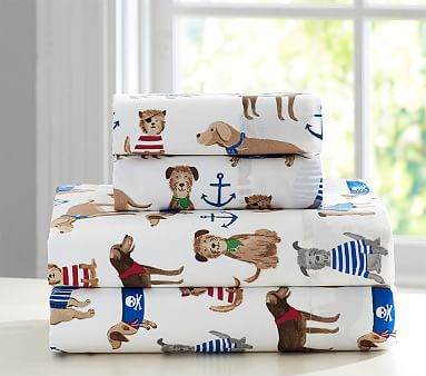Salty Dog Sheet Set Pottery Barn Kids