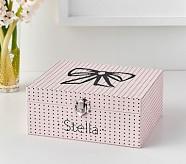 Emily & Meritt Pink Dot Jewelry Box