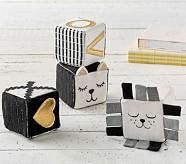 Emily & Merritt Kitty & Lion Blocks Set of 4