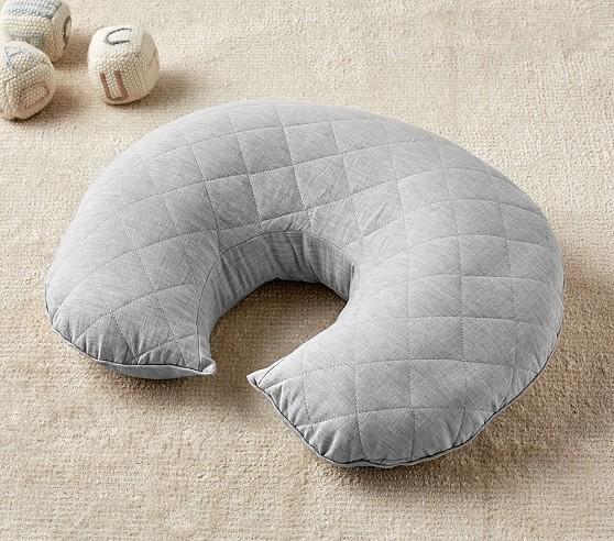 Gray Belgian Linen Boppy 174 Feeding Amp Support Pillow