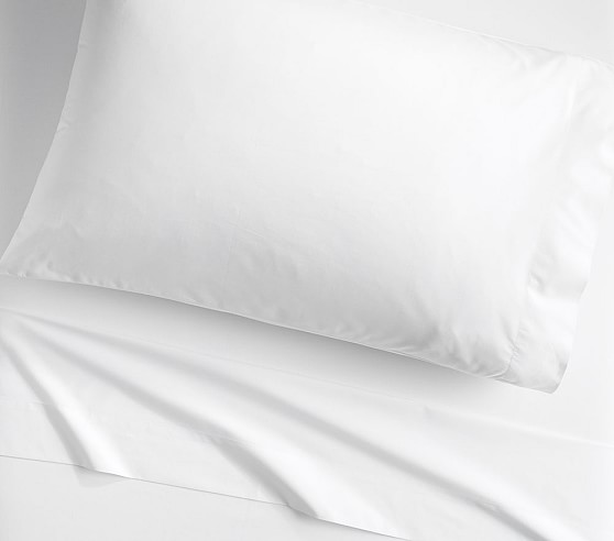 Organic Cotton Sheet Set, Twin, White