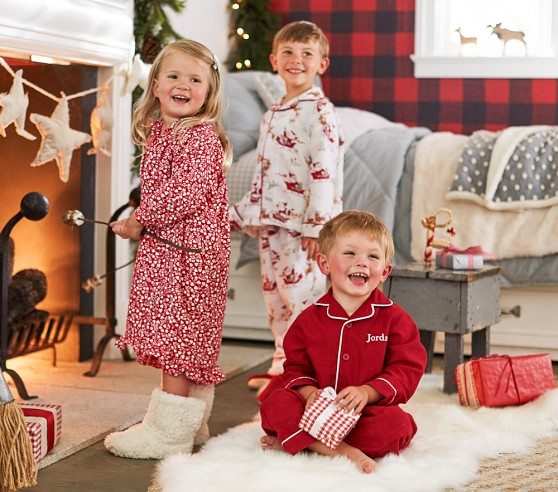 Red Flannel Pajama | Pottery Barn Kids