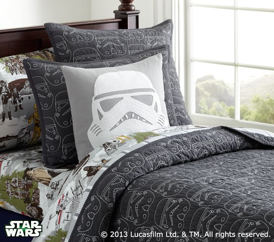 Star Wars Decorative Shams Pottery Barn Kids