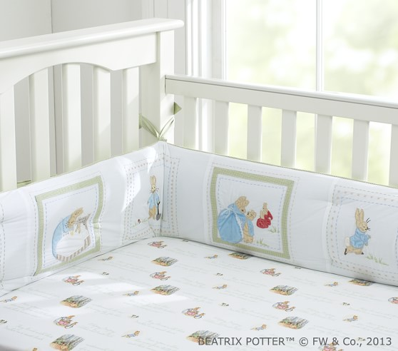 Peter Rabbit Baby Bedding Set Pottery Barn Kids