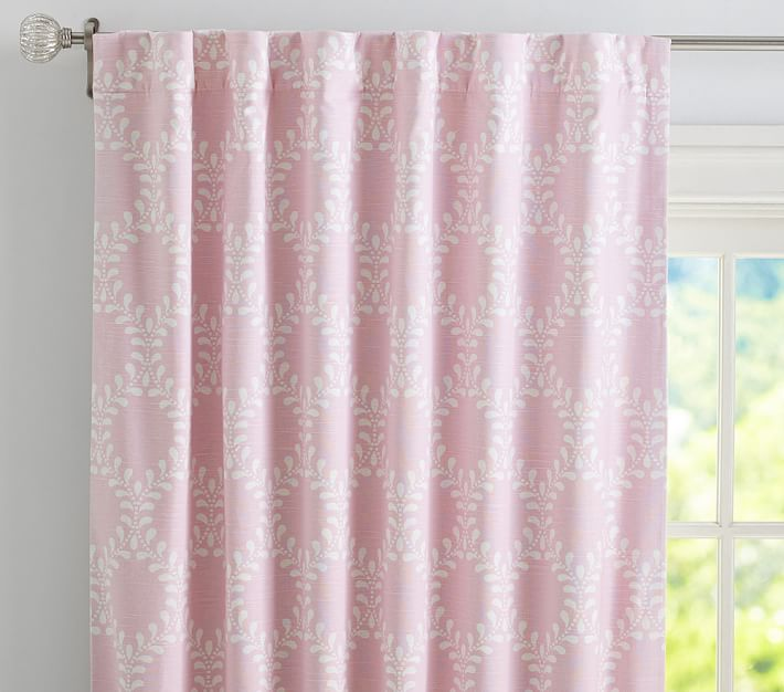 Curtains Ideas blackout panels for curtains : Evelyn Vine Linen Blend Blackout Panel | Pottery Barn Kids
