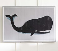 Sea Animal Plaque, Whale
