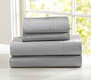 Organic Sheet Set, Twin, Gray