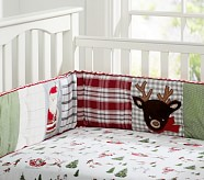 Dear Santa Nursery Crib Fitted Sheet
