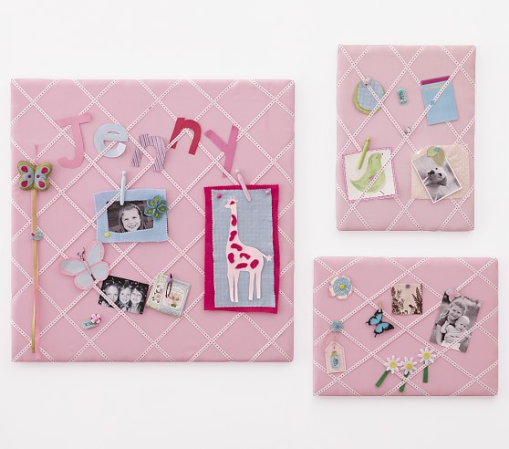 "Jillian Ribbon Pinboard, Small 18""x24"""