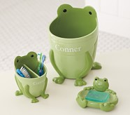Frog Bath Accessories, Tooth Brush Holder