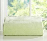 Chamois Pillowcase, Green, Standard