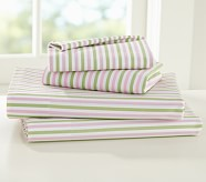Savannah Sheet Set, Twin, Pink/Green