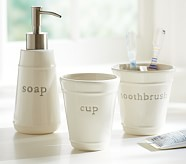 Bath Accessories Tumbler - Grey