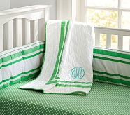 Harper Toddler Quilt, Bright Green