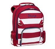 Fairfax Red Stripe Small Backpack, No Patch