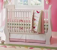 Penelope Nursery Quilt Bedding Set: Toddler Quilt, Crib Skirt & Crib Fitted Sheet