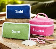 Personalized Terry Bag, Triangle, Pink