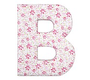 Fabric Letter - B