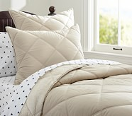 Cozy Plush Comforter, Twin, Khaki