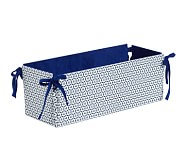 Reversible Changing Table Storage, Navy Geo