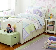Catalina Storage Bed & Dresser Set, Simply White