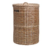 Taupe Sabrina Basket Collection, Hamper