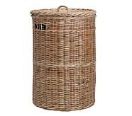 Taupe Sabrina Basket Collection, Hamper